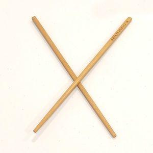 Vintage 90s Hair Sticks Wooden Chopsticks